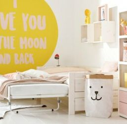 Lifetime Kidsroom Children Bed with Pop Up Bed